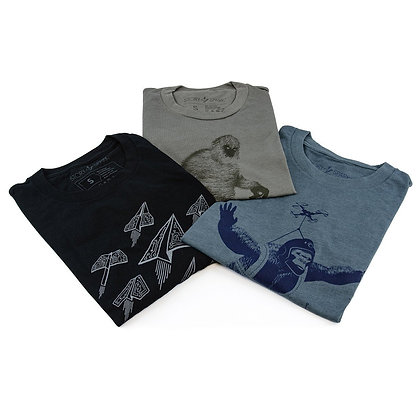 Story Spark Graphic T-Shirts 3 Pack