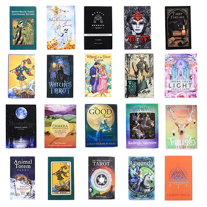 Hot Selling Tarot Cards Oracle Guidance Divination Fate Tarot Deck Board Games