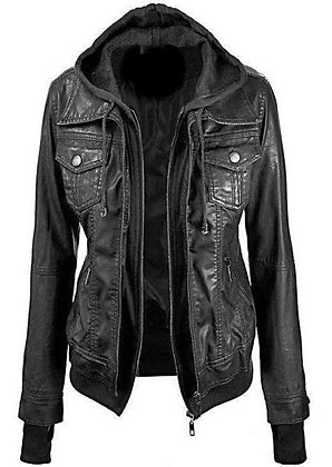 Annalise Womens Leather Jacket