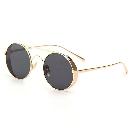 Retro Metal Round Circle Lennon Sunglasses