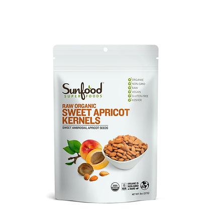 Apricot Kernels, Sweet, 8oz, Organic