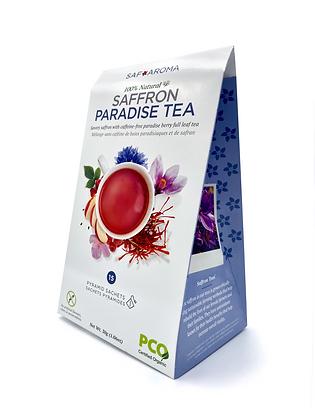 Saffron Paradise Tea | Certified Organic
