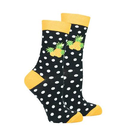 Women's Pineapple Dot Socks