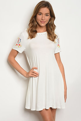 Lela Off White Dress