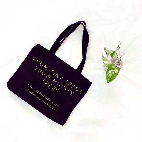 Mighty Trees Grow - Shopping Bag.