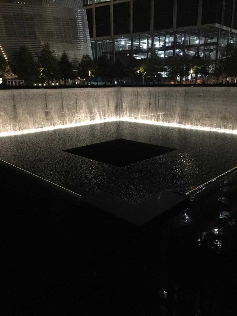 WTC Memorial at Night
