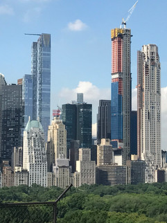 NYC Skyline with Construction