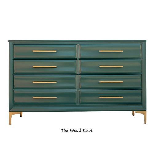 Master Craftsmen Modern Hunt Club Lowboy Green Dresser