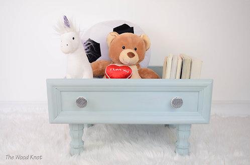 Duck Egg Blue Storage Box - Pet Bed