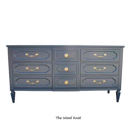 Dark Night Blue Dresser