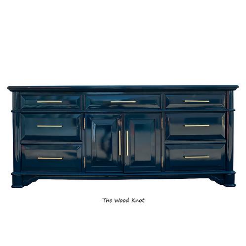 Thomasville High Gloss Blue Sideboard