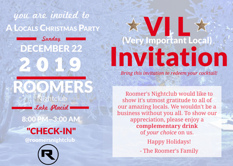 Roomers Flyer