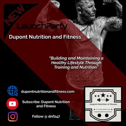 Dupont Nutrition & Fitness flyer