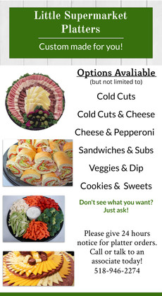 Little Super Market menu