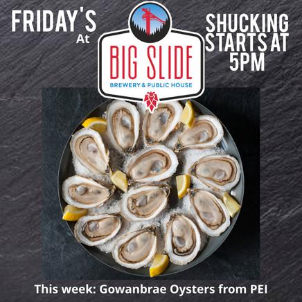 Big Sllide Oysters