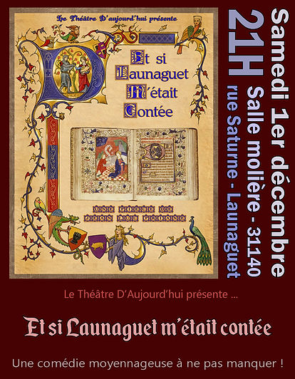 flyer ''Et si launaguet m'était contée (01-12-18)