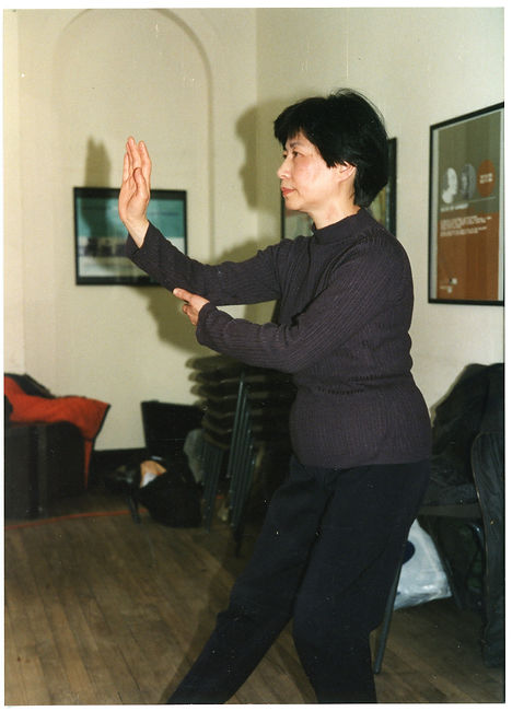 Photograph Tai chi performance (GB3451:O