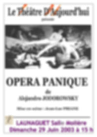 Opéra Panique (2003)