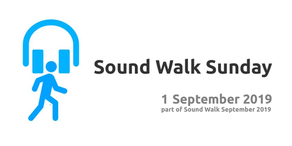 Sound Walk Sunday (the Museum of Walking)