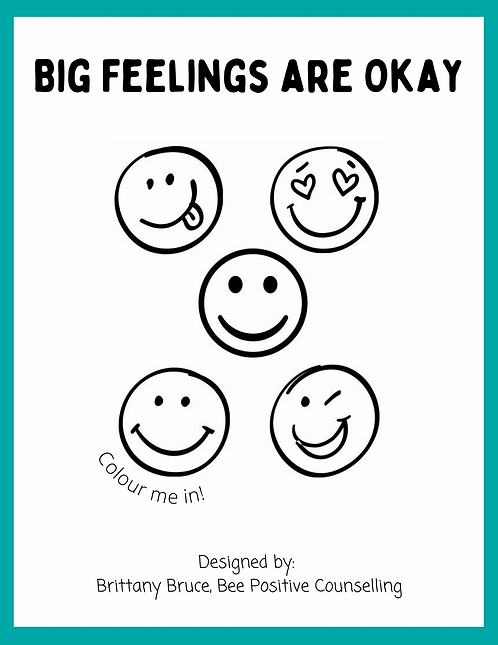 Big Feelings Are Okay!
