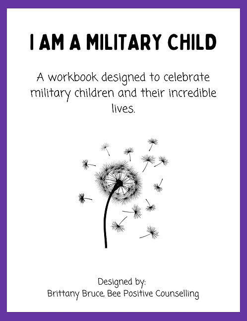 I am a Military Child Workbook