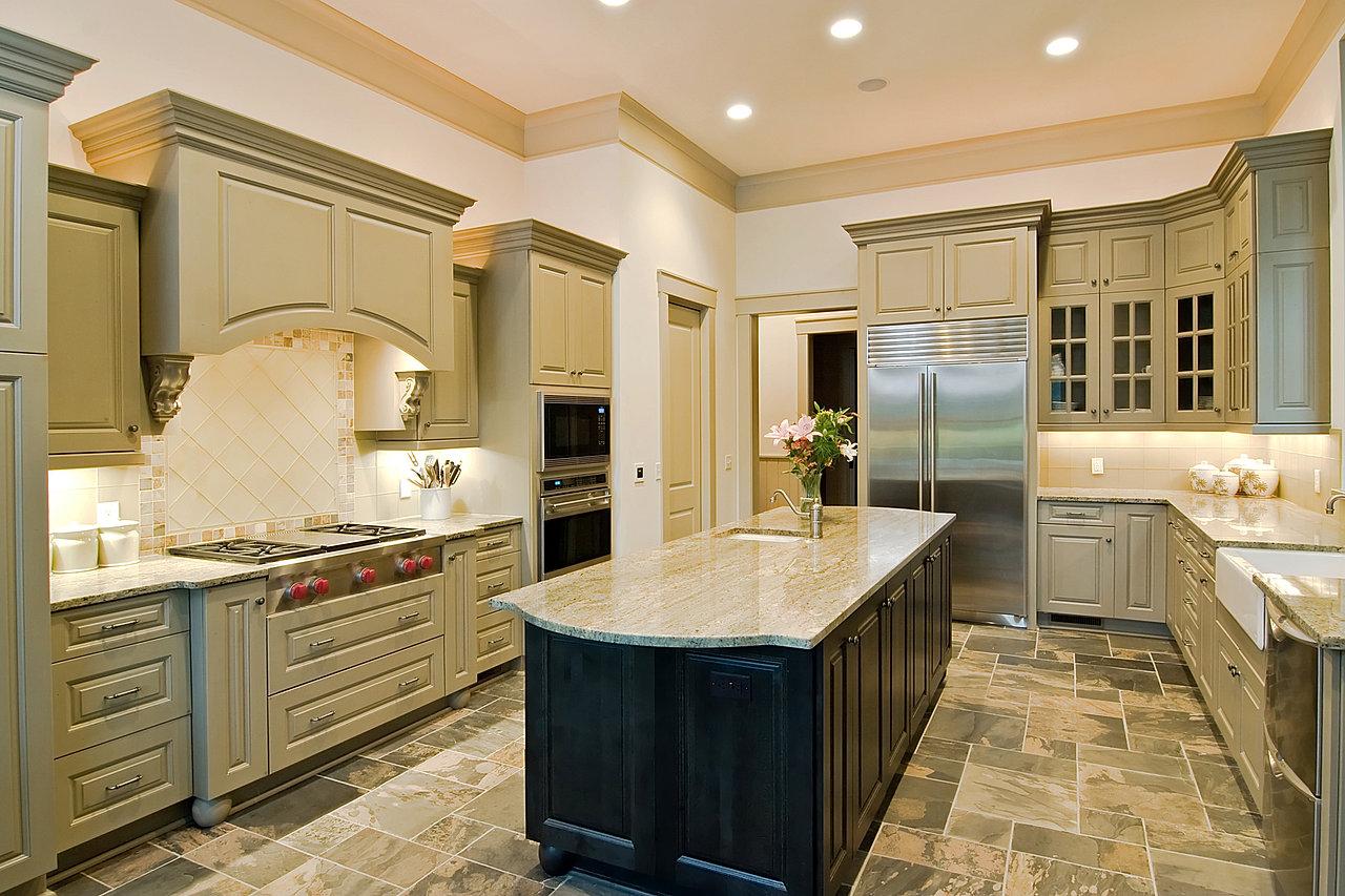 Kitchen Slate Floor Bkthefloorstore