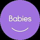 MT ClassLogo Babies SolidCircle PURPLE w