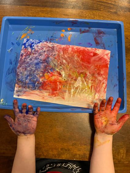 hand painting cks