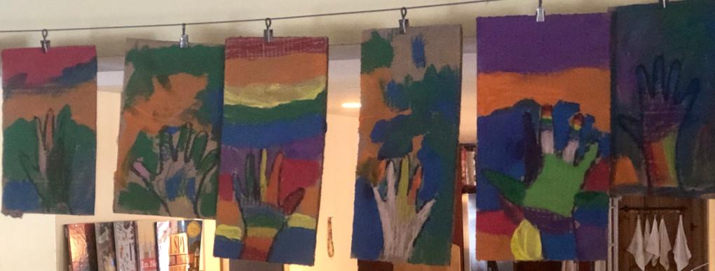 paintings drying on line cks