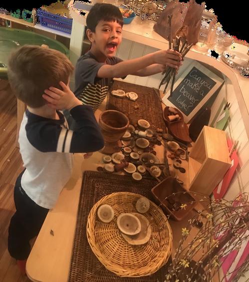 children having fun cks