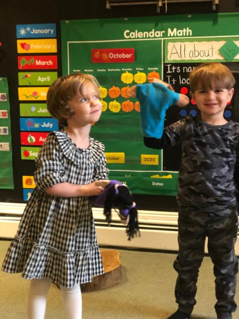 children in front of class cks