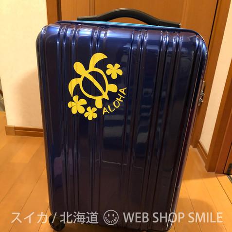 nc-smile ハワイアン ステッカー ホヌ HONU★プルメリア★ALOHA (ジャスミン)