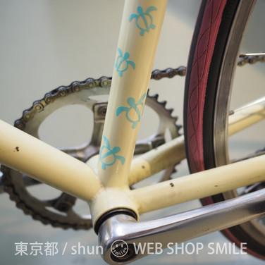 nc-smile ハワイアンステッカー ホヌ S1 (ミントグリーン)