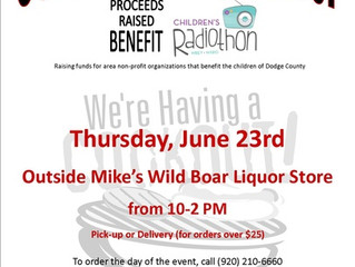June 23rd - Purple T-shirts Promote Radiothon!
