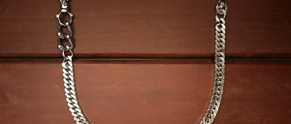 Corrente Aço Inox Skull