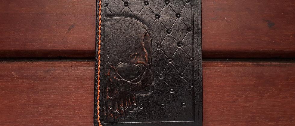 Card Holder Big Skull