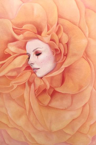 """""""Luminous Nectar"""" 8x10in print"""