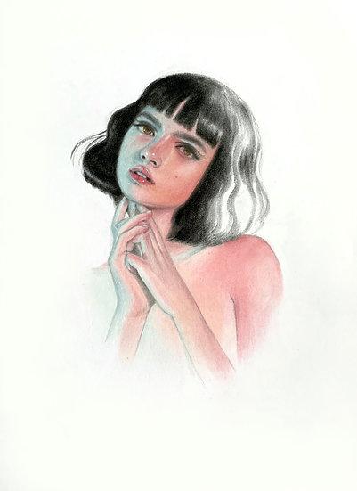 """""""Neon"""" Original Drawing"""