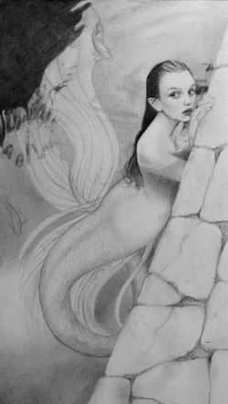 Mermaid Sketch 1