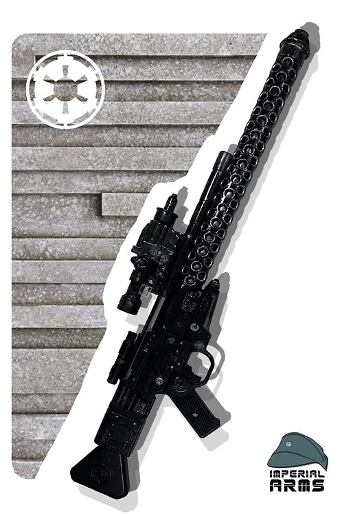 DLT-20A Long-Barreled Star Wars Custom Reinforced Replica Prop