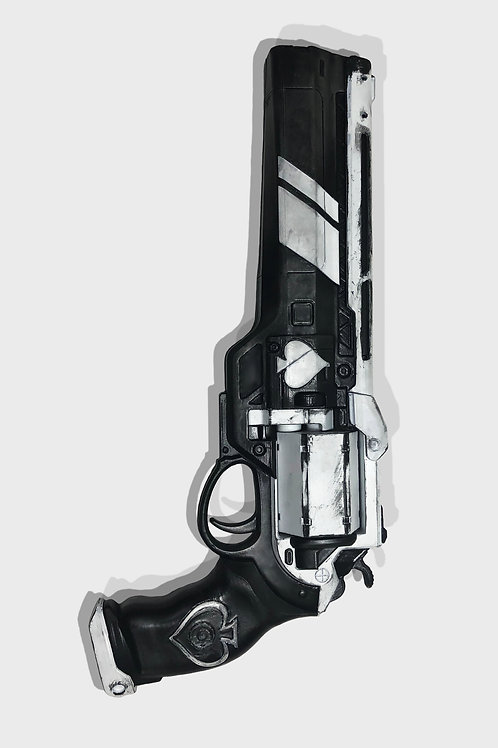 Destiny 2 Cayde-6 Ace of Spades Exotic Hand Cannon Prop