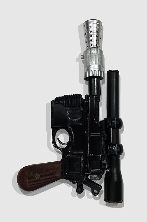 Han Solo's DL-44 Heavy Custom Star Wars Replica Prop