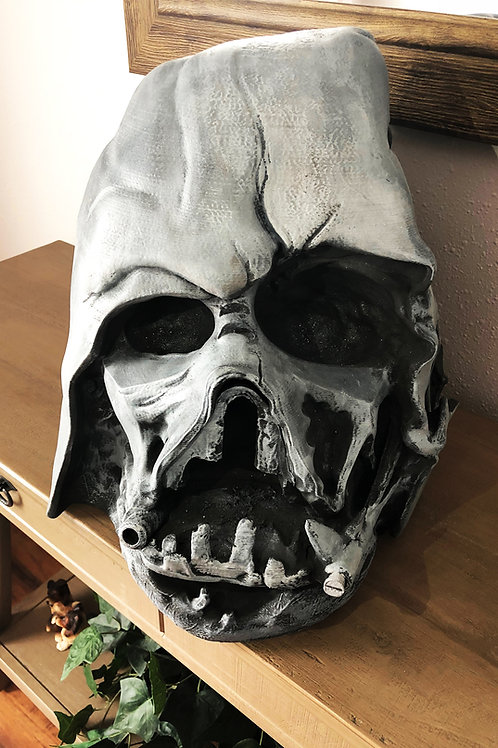 Life size 1:1 scale Melted Darth Vader Helmet Prop From The Force Awakens