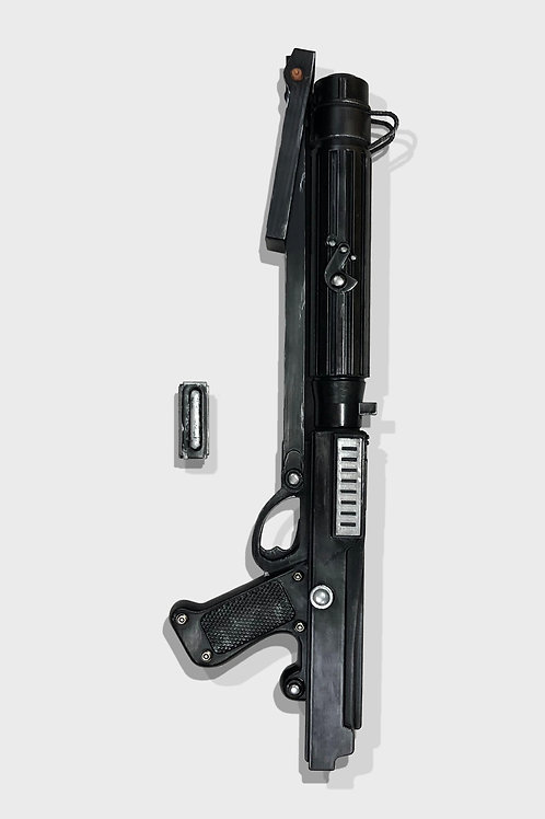 Star Wars Custom Clone Wars DC-15s Blaster Rifle With Functioning Stock and Ammo