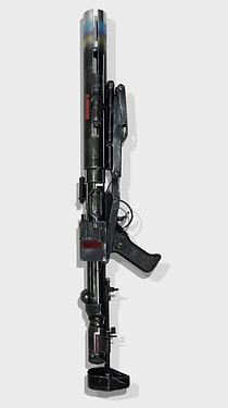 E-11D Death Trooper Custom Star Wars Replica Prop