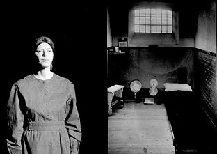 Jacqueline Mulhallen as Sylvia Pankhurst in Sylvia