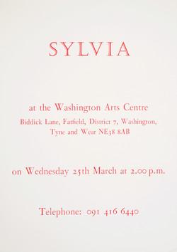 Sylvia leaflet 1992
