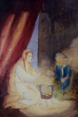 Painting by Constance Markievicz