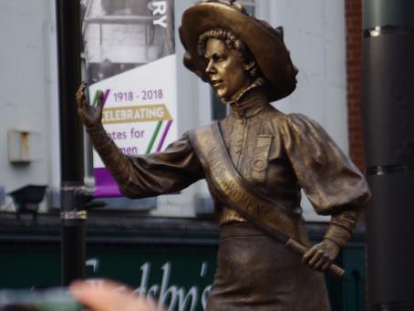 Alice Hawkins statue unveiled