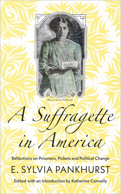 Cover of A Suffragette in America